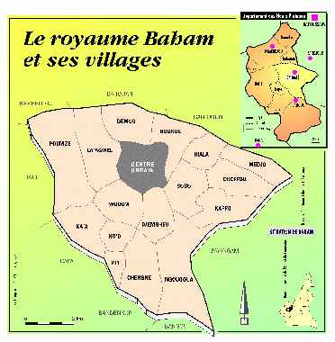 Carte Royaume BAHAM